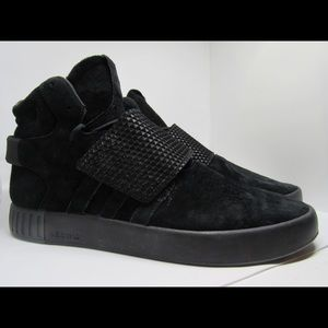 NEW Adidas Originals Tubular Invader Strap Sneaker